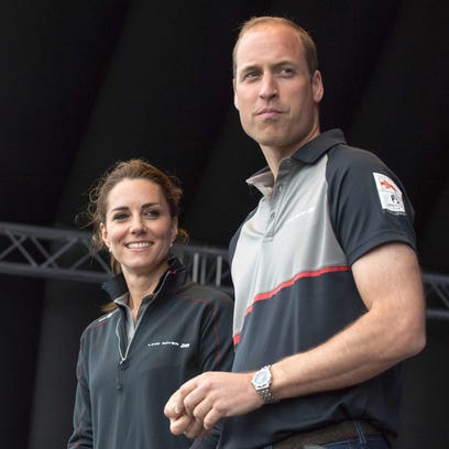 Kate, Duchess of Cambridge, and Prince William visit