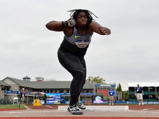 Lawrence North grad Felisha Johnson is headed to Rio and hopes her family can make the trip, too.