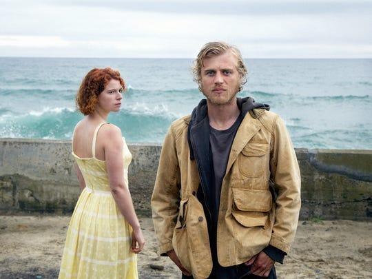 "Johnny Flynn and Jessie Buckley star in ""Beast."""