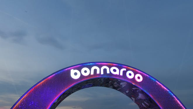 Bonnaroo Music and Arts Festival on Saturday, June 9, 2018