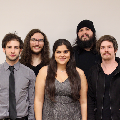 Nina & The Boyz. Pictured (from left to right) are: