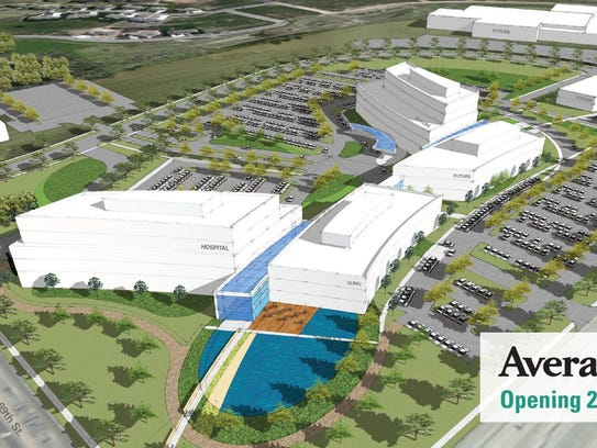 A new Avera campus at 69th and Louise will cost $174