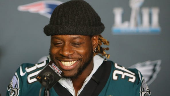 Philadelphia Eagles running back Jay Ajayi.