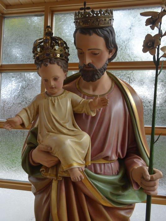 St. Joseph statue photo 3