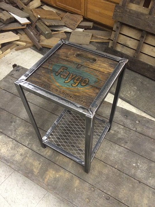Faygo And Vernors Crate Tables Are All Michigan