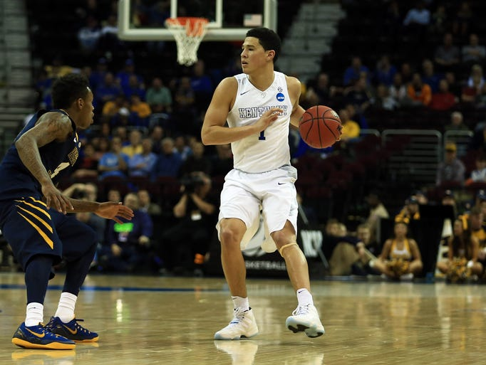 Suns' Devin Booker top betting choices in NBA 3-point contest