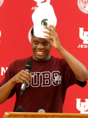 Point guard Cassius Winston helped lead University of Detroit Jesuit High to the Class A state semifinals as a junior and a state championship this spring.