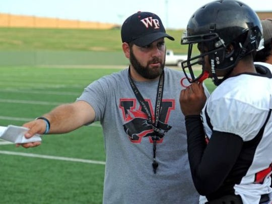 Former Wichita Falls High School assistant coach Joe Cluley is part of the coaching staff at Lubbock Estacado, which will be playing Argyle at Burkburnett in a playoff game Friday night.