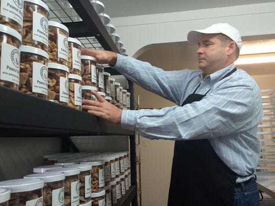 Robert Page is a co-owner of Granny's Confections.
