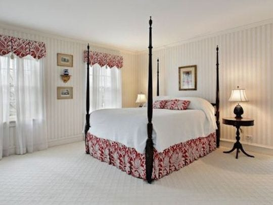 Now: The master bedroom that Kevin claimed when he