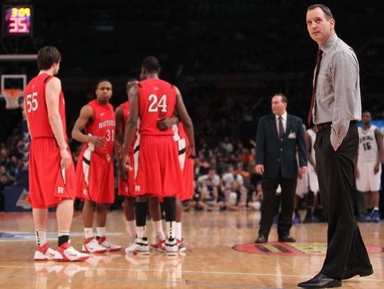 Rutgers coach Mike Rice went 5-2 against Seton Hall.