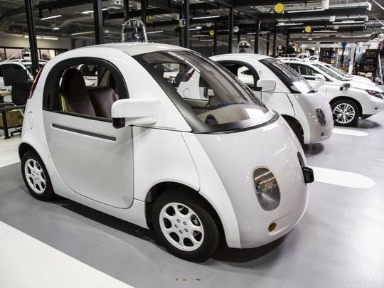 Google has taken an early lead in the future of self-driving