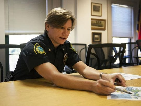 Asheville Police Chief Tammy Hooper has made numerous changes within the department since taking over July 20.