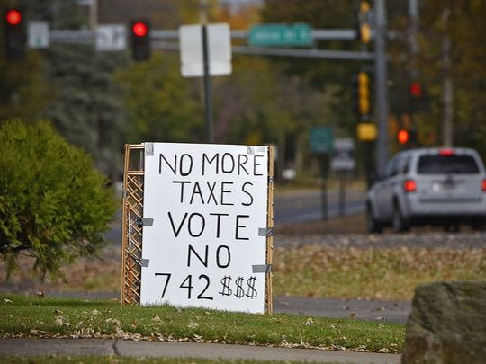 Opposition to the St. Cloud schools' referendum grew in the last few weeks before the vote.