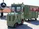 1975 Clarkat Luggage Tug: A four-cylinder, propane powered car for carrying baggage to and from airplanes. The unusual vehicle is set to be the first auctioned at Barrett-Jackson this year.
