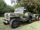 1952 Willys military jeep: This car, formerly on display