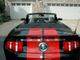 2010 Ford Shelby GT500 convertible: The rare black-and-red Shelby convertible boasts 540 horsepower and a six-speed manual transmission and 17,000 miles.