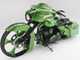 """2010 Harley-Davidson FLHX custom motorcycle: Nicknamed the """"Atomic Leprechaun,"""" this customized motorcycle was ridden by """"Sons of Anarchy"""" actor Charlie Hunnam during the 2012 Lone Star Rally in Texas, according to the seller."""