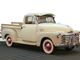 1951 Chevrolet Thriftmaster truck: This classic pick-up was used as a display vehicle inside a dealership showroom in Charlotte, N.C. and has a window-mounted Eskimo car cooler, an early type of air conditioning.