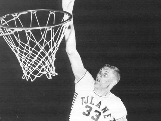 Lakewood's Jack Ardon, shown playing for Tulane, was the star of the 1958 Shore Conference Tournament.