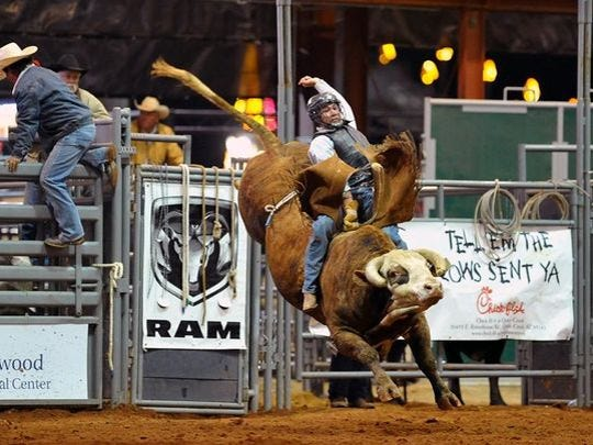 3/17-19: Roots n' Boots Queen Creek | Roots n' Boots returns for its weekend-long event featuring a PRCA Pro-Rodeo, community barrel roping and sorting competitions, a carnival, live entertainment, vendors, a rodeo dance and numerous free family activities for all ages.  Details:  9 a.m. Friday, 9 a.m. Saturday, 9 a.m. Sunday. Horseshoe Park and Equestrian Center, 20464 E. Riggs Road, Queen Creek. Admission free. Many events/activities free. Rodeo tickets start at $16; Carnival wristbands $18. Parking $5. 480-358-3710, www.rootsnboots.org.