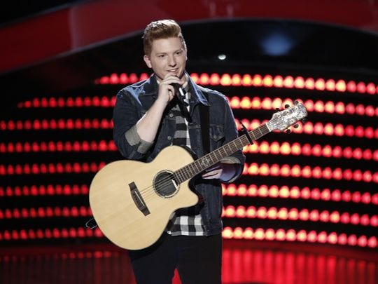 """Mike Schiavo of Colonia on """"The Voice."""""""