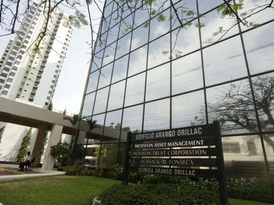 The offices of Panama law firm Mossack Fonseca in Panama City on April 3.