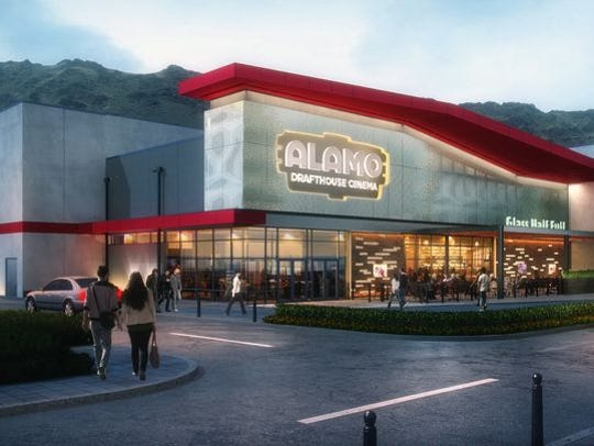 This is a rendering of the Alamo Drafthouse Cinema