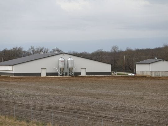 Wiechman cutline  Wiechman Pig Company's new facility at 6976 Samuel Milroy Road in Delphi.