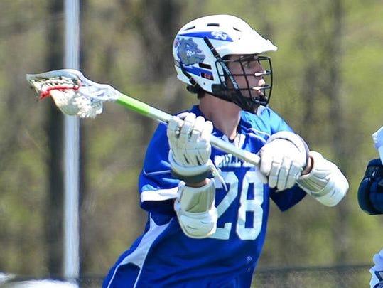Columbus North lacrosse standout Wyatt Barkes