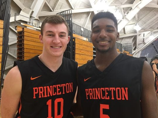 Jersey guys Spencer Weizs (left) and Amir Bell will be happy to face a quality in-state opponent.
