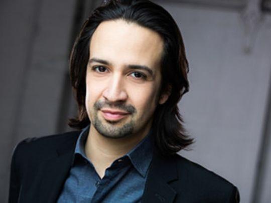 "Lin-Manuel Miranda, creator and star of ""Hamilton."""