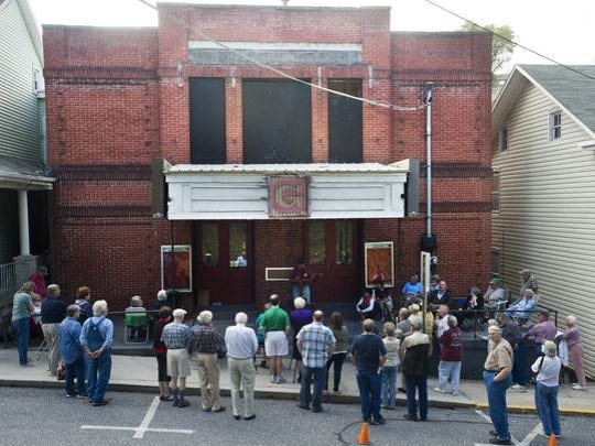 The Glen Theatre is a former band hall, and it's still
