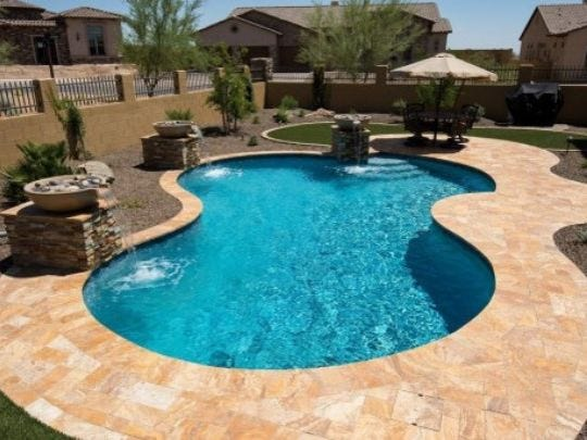 Splurge Stone Pool Decking