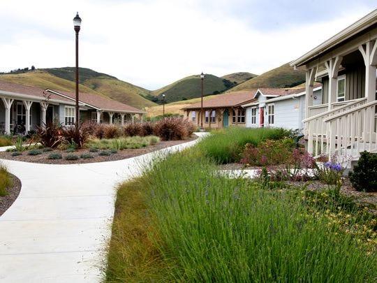 El programa de vivienda de transición de Rancho Cielo.