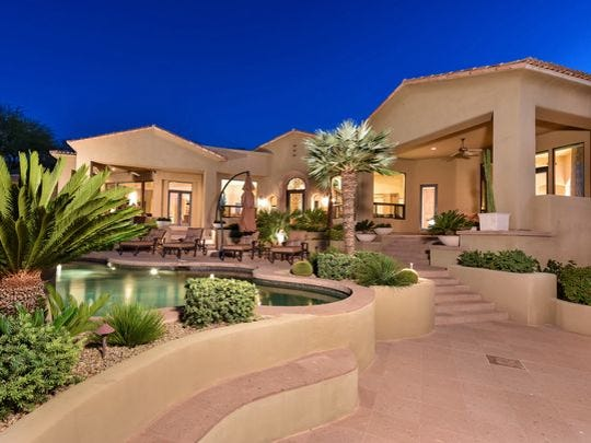This Paradise Valley home was bought by Certosa Inc.,