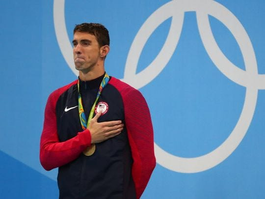 Michael Phelps wins another gold Aug. 9, 2016.