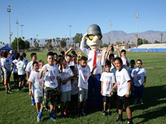 The 1st Annual Indio SoCal Coyotes youth mini-camp.