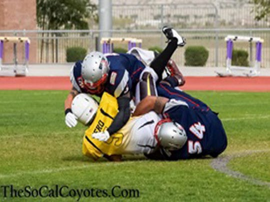 SoCal Coyotes dominate Desert Vipers.