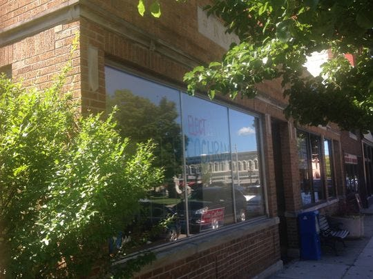 Developers hope to raze this building at 160 E. Ash