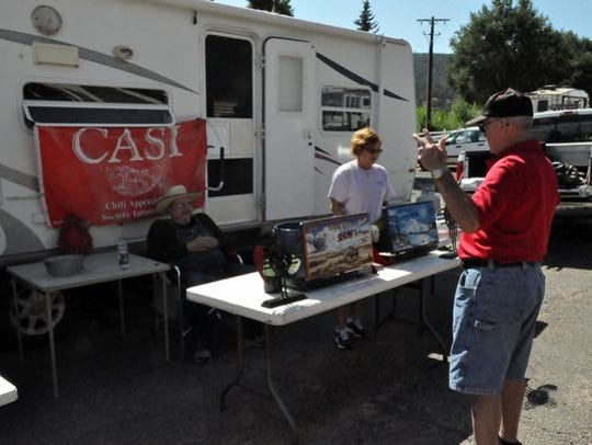 The New Mexico State Open Chili Cook-Off Saturday and