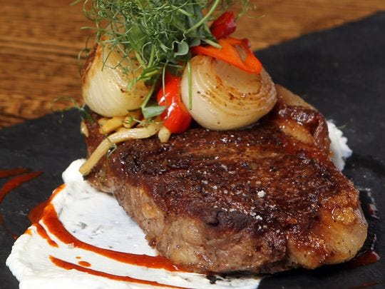 Strip steak from Maribelle's