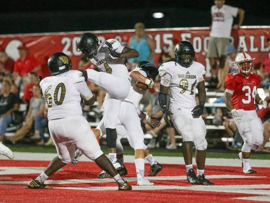 Warren Central is No. 1 in the AP rankings for Class 6A.