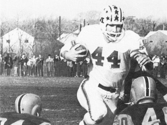 Middletown quarterback Dixie Abdella led the Lions to a 9-0 record in 1964, considered the top team in the first Asbury Park Press Top 10 poll.