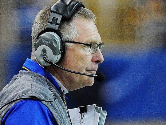 SDSU coach John Stiegelmeier