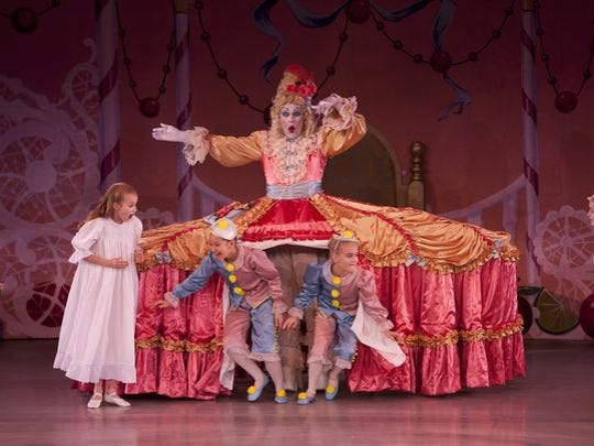 "Indianapolis School of Ballet's production of ""The"