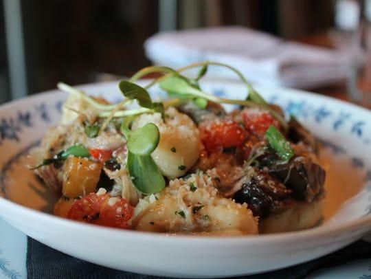 Rabbit gnocchi at Town Council Kitchen & Bar, Neenah