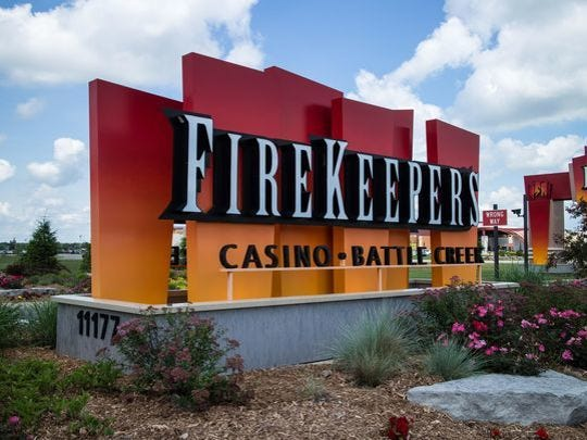 FireKeepers Casino Hotel in Emmett Township.