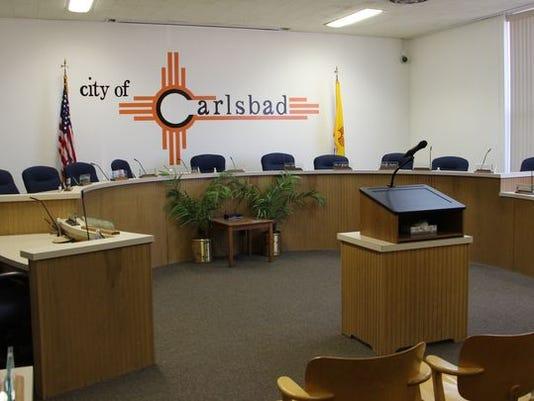 Carlsbad City Council chamber