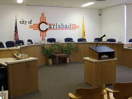 Carlsbad City Council chamber